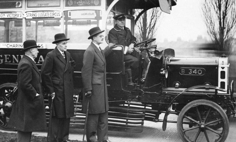 Początki transportu masowego