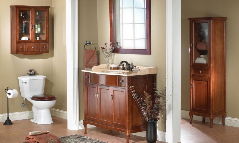 Łazienka stylizowana na retro