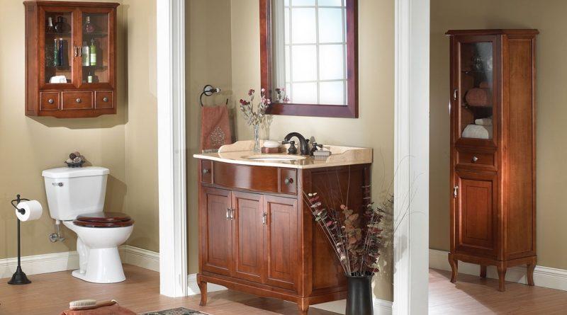 piękno łazienki stylizowanej na retro